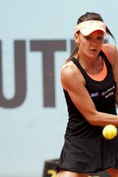 Agnieszka Radwanska – Mutua Madrid Open 2014 – Day Five