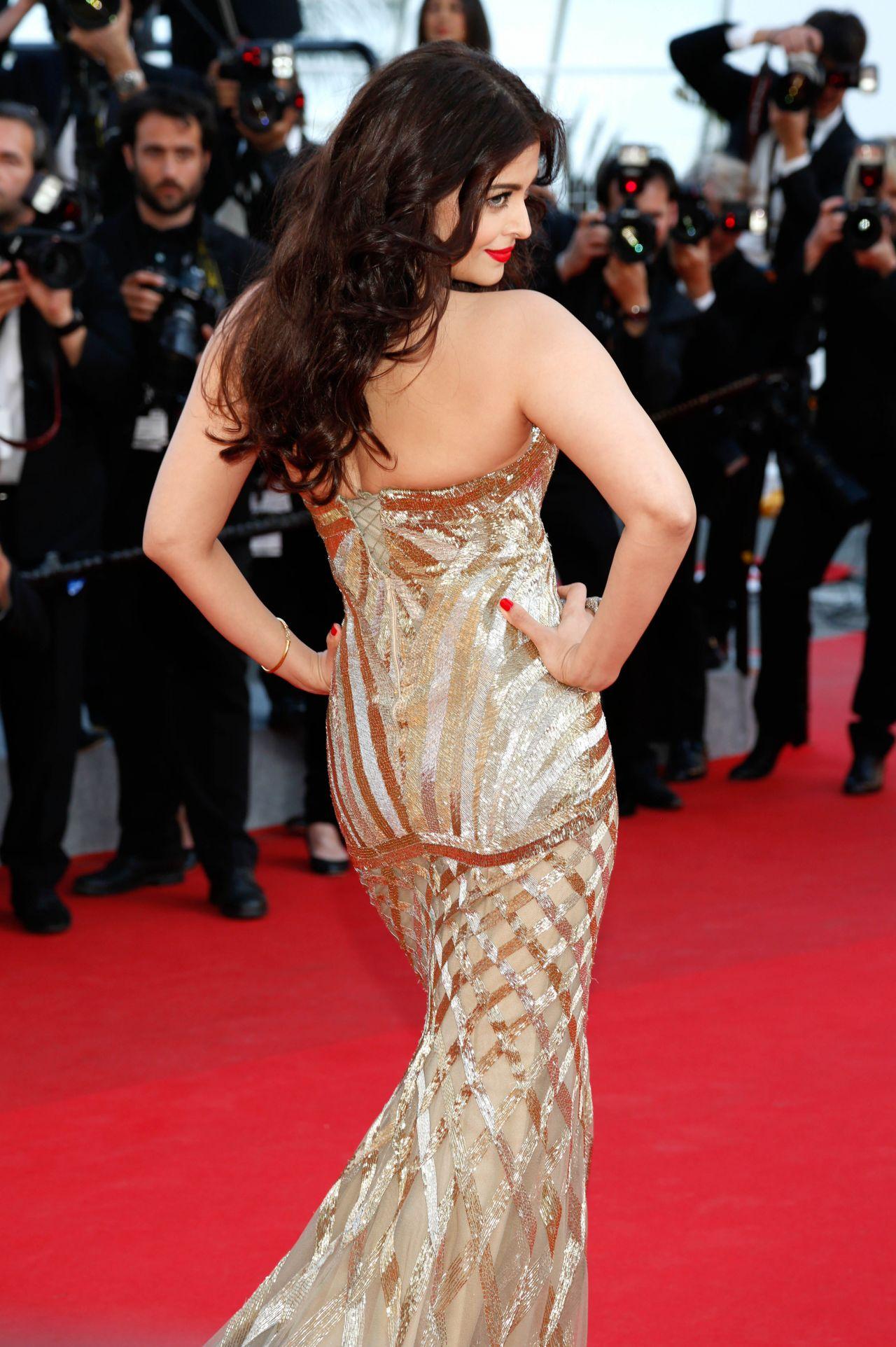 Cannes 2014: Aishwarya Rai Bachchan at the premiere of ... |Aishwarya Rai 2014 March