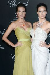 Alessandra Ambrosio & Adriana Lima – Chopard Backstage Party – 2014 Cannes Film Festival