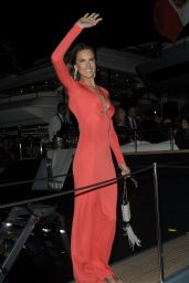 Alessandra Ambrosio - Roberto Cavalli Yacht Party - Cannes, May 2014