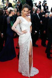 Alessandra Ambrosio Wearing Atelier Versace Dress -
