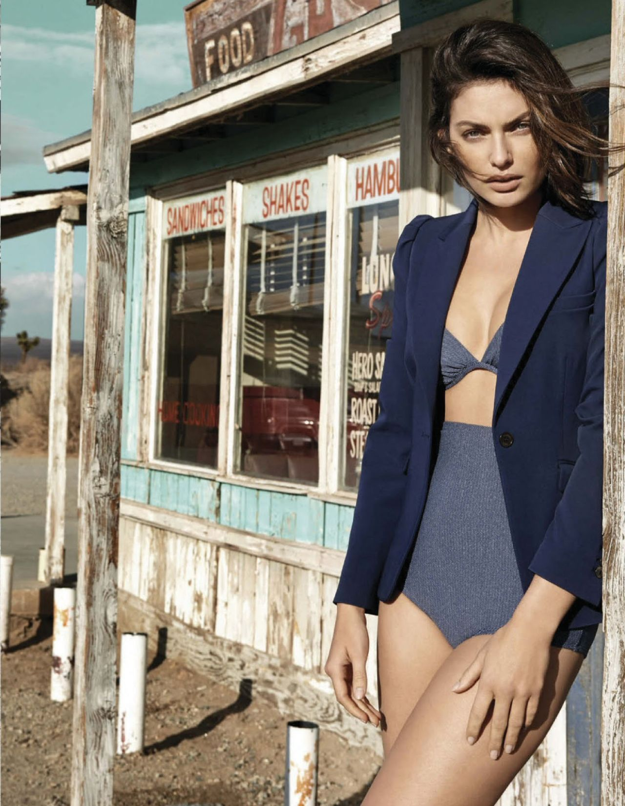 Alyssa Miller - Vogue Magazine (Mexico) May 2014 Issue