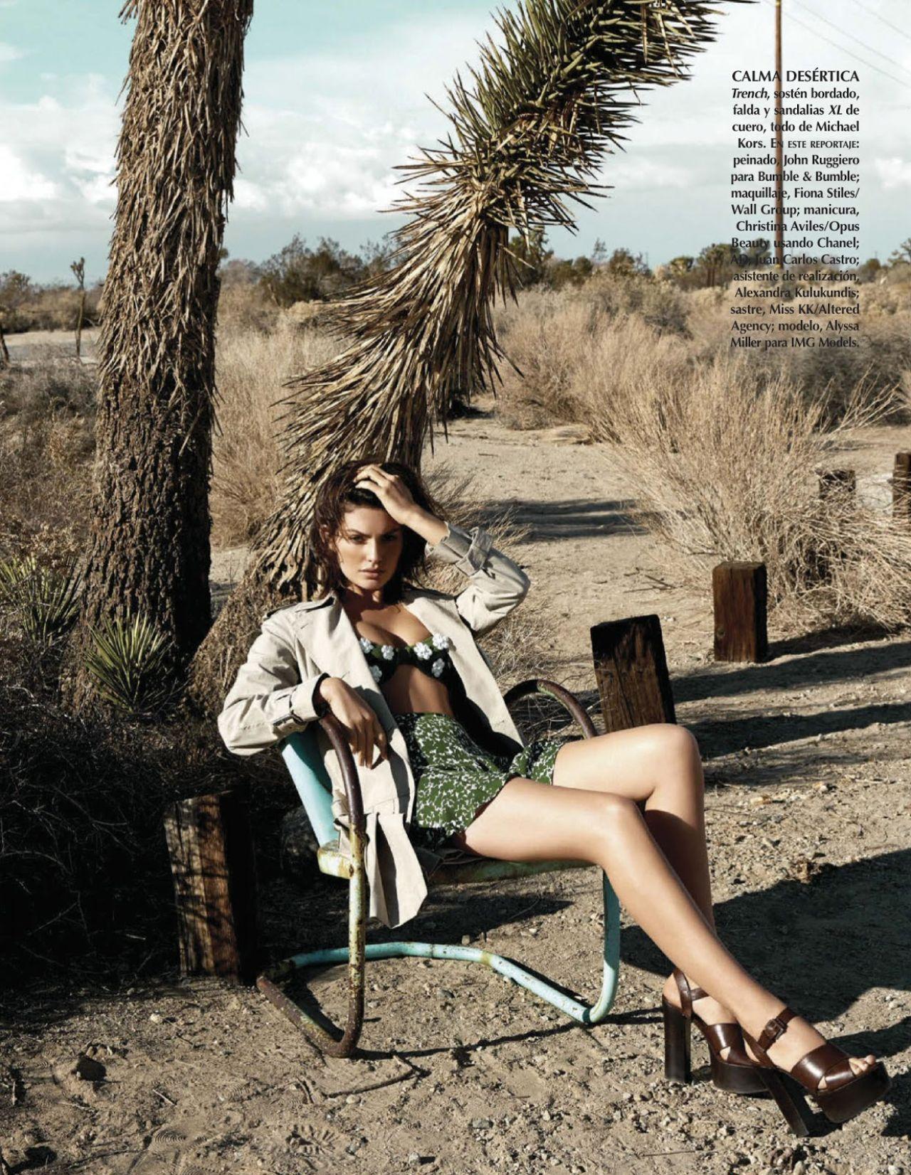 Alyssa Miller - Vogue Magazine (Mexico) May 2014 Issue
