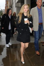 Amanda Seyfried - Arriving at BBC Radio 1 Studios in London - May 2014