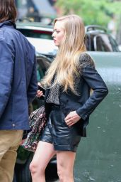 Amanda Seyfried Hot Leggy Out in New York City - May 2014