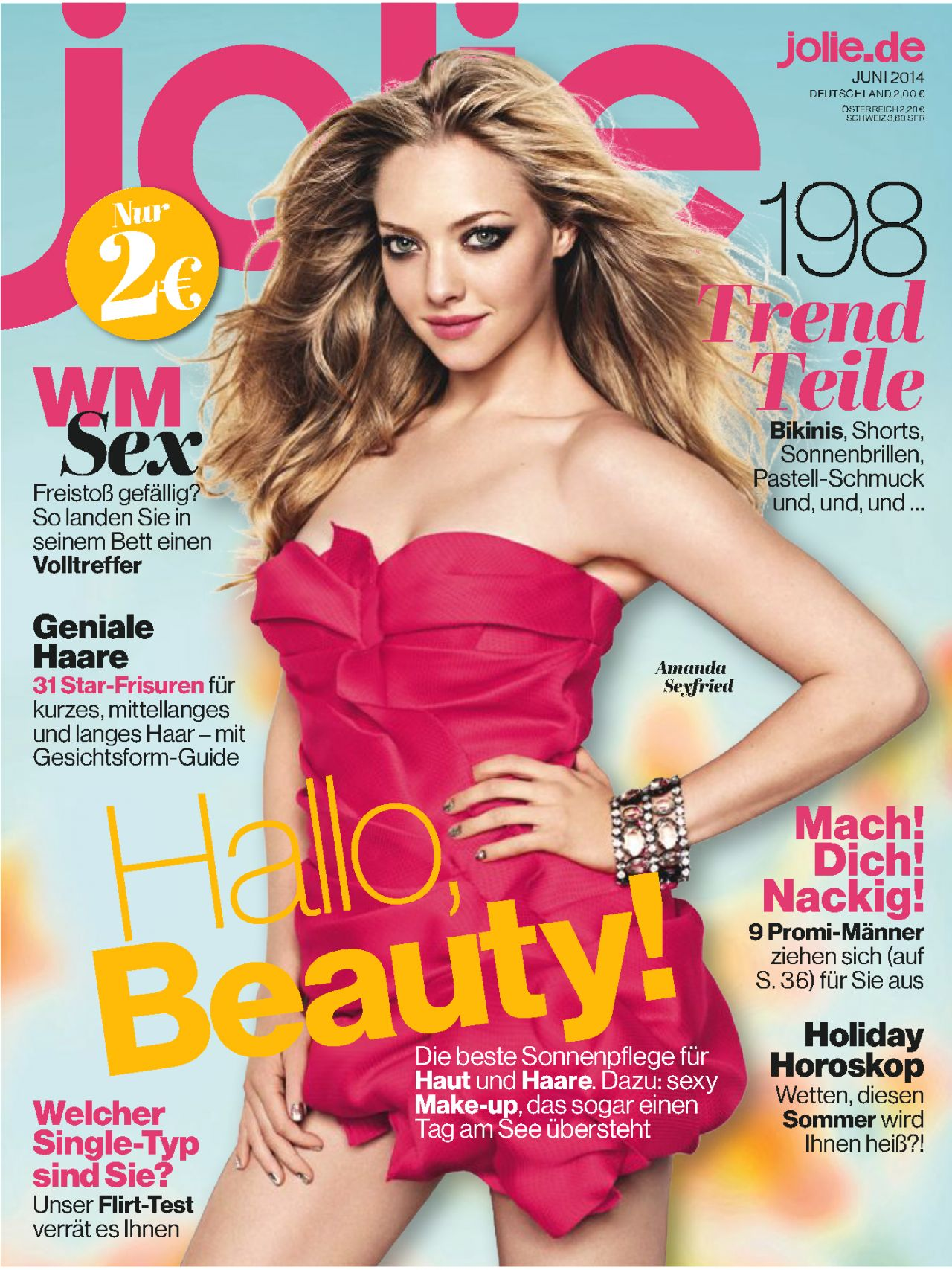 Amanda Seyfried – Jolie Frauenmagazin (Germany) June 2014 Issue