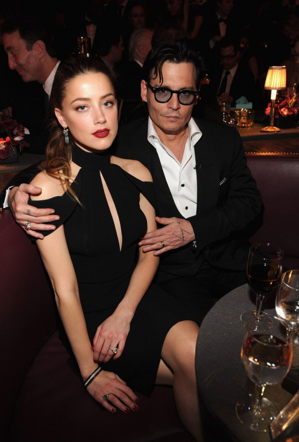 Amber Heard and Johnny Depp - Spike TV