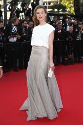 Amber Heard in Vionnet -