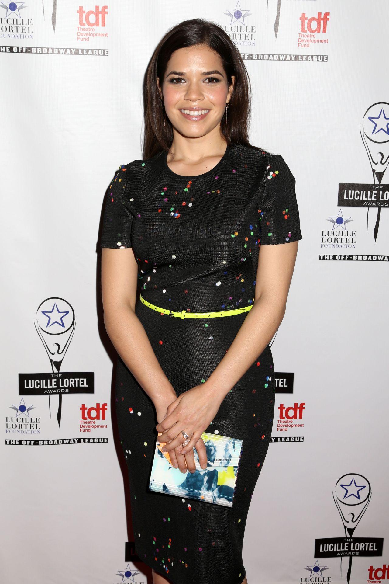 America Ferrera - 2014 Lucille Lortel Awards