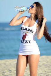 Anais Zanotti Bikini Candids on Miami Beach - May 2014