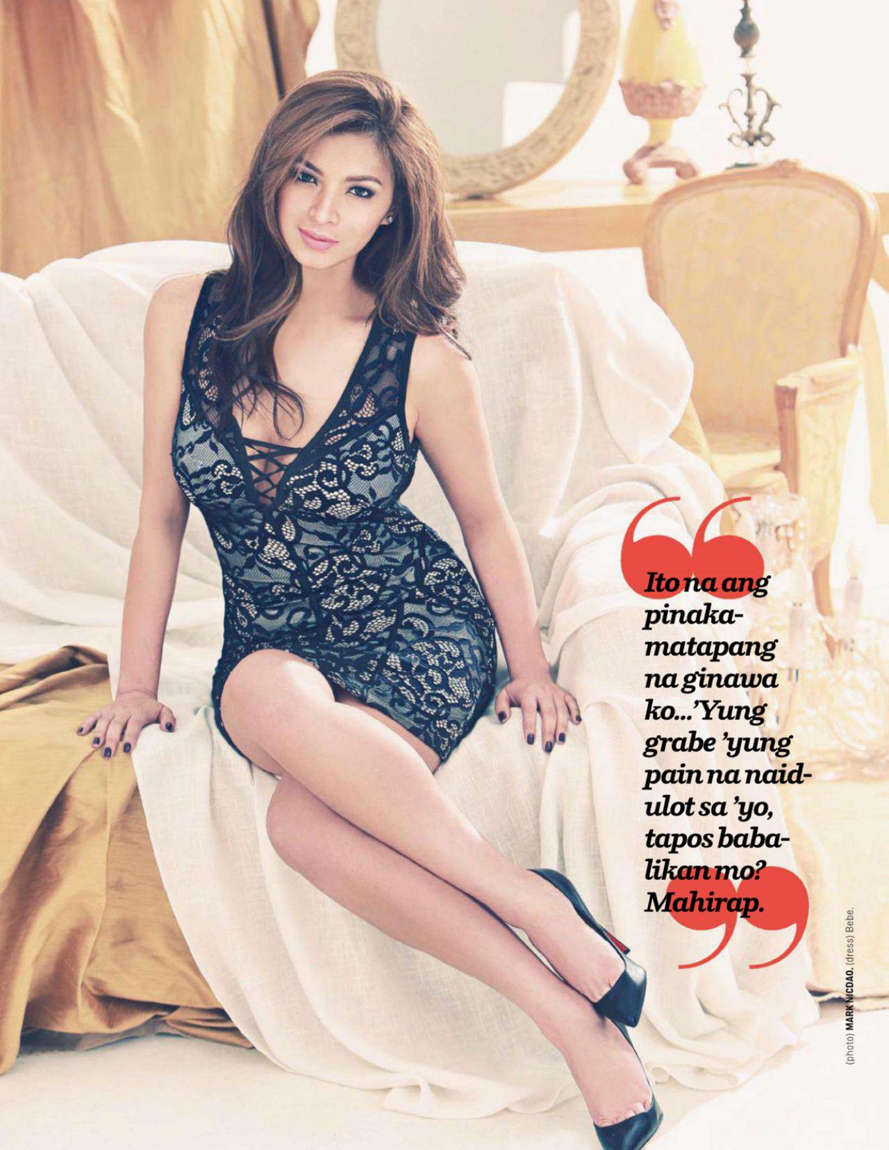 Angel Locsin – Cosmopolitan Magayine (Philippines) May 2014 Issue