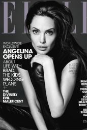 Angelina Jolie - Elle Magazine June 2014 Issue