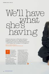 Angelina Jolie - Stylist Magazine (UK) May 21, 2014 Issue