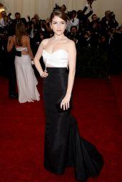 Anna Kendrick Wearing J. Mendel Mermaid-Style Gown – 2014 Met Costume Institute Gala
