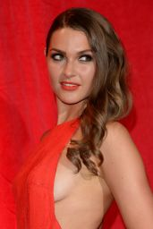 Anna Passey - 2014 British Soap Awards