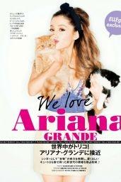 Ariana Grande ELLE Girl Magazine (Japan) June 2014 Issue