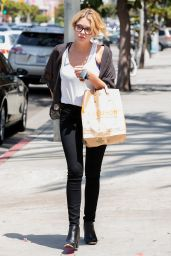 Ashley Benson in Tight Jeans - Shops at Erewhon in West Hollywood - May 2014