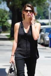 Ashley Greene Going to a Nail Salon in Studio City - May 2014
