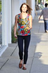 Ashley Greene Street Style - Out in LA - May 2014