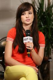 Ashley Rickards - Variety Studio in West Hollywood - May 2014