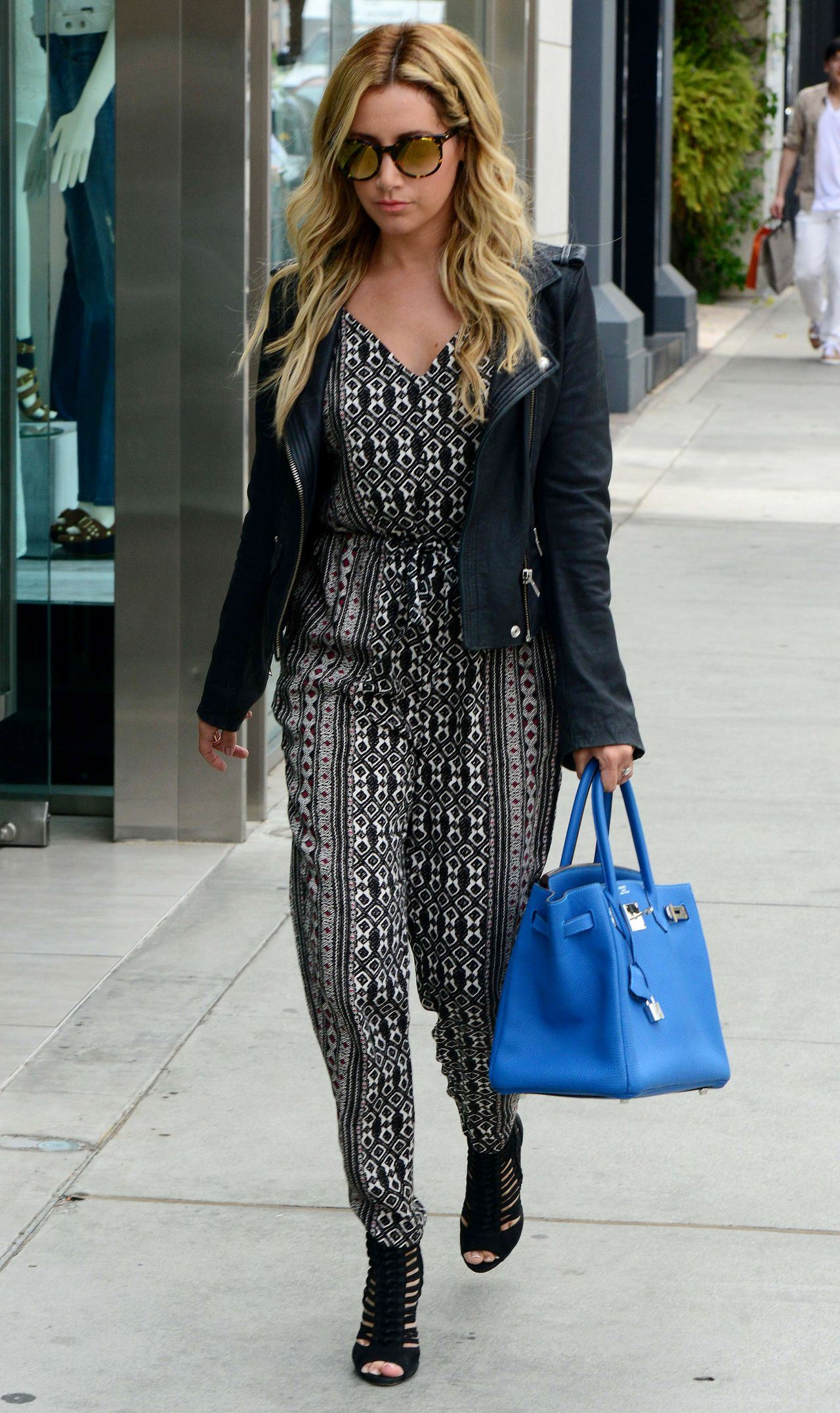 Ashley Tisdale Cool and Casual Style - Out in West ...