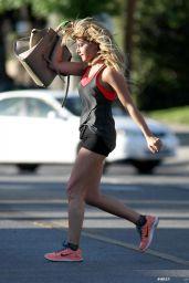 Ashley Tisdale - Leggy, Out in LA - April 2014