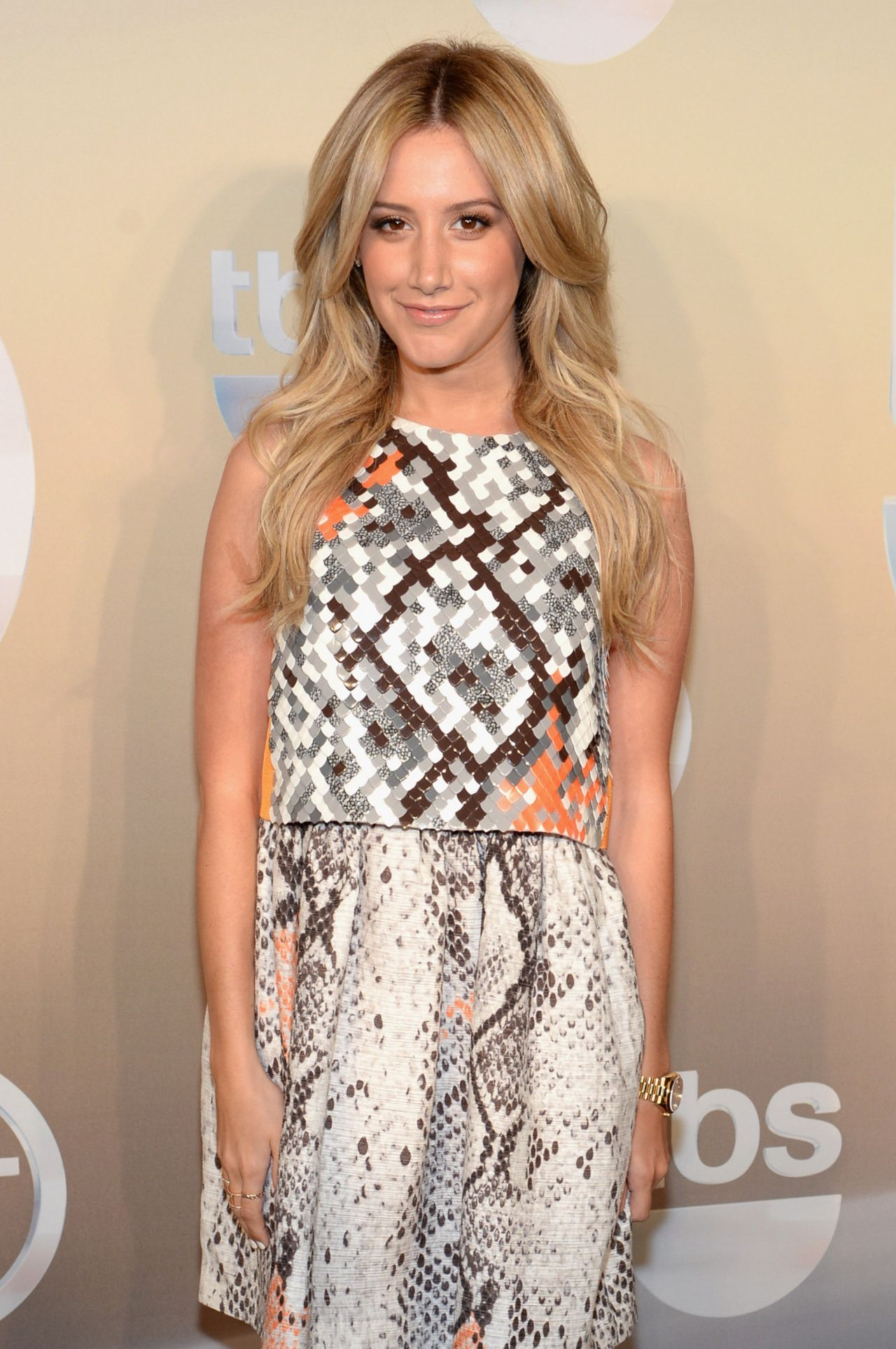 Ashley Tisdale - TBS / TNT Upfront 2014