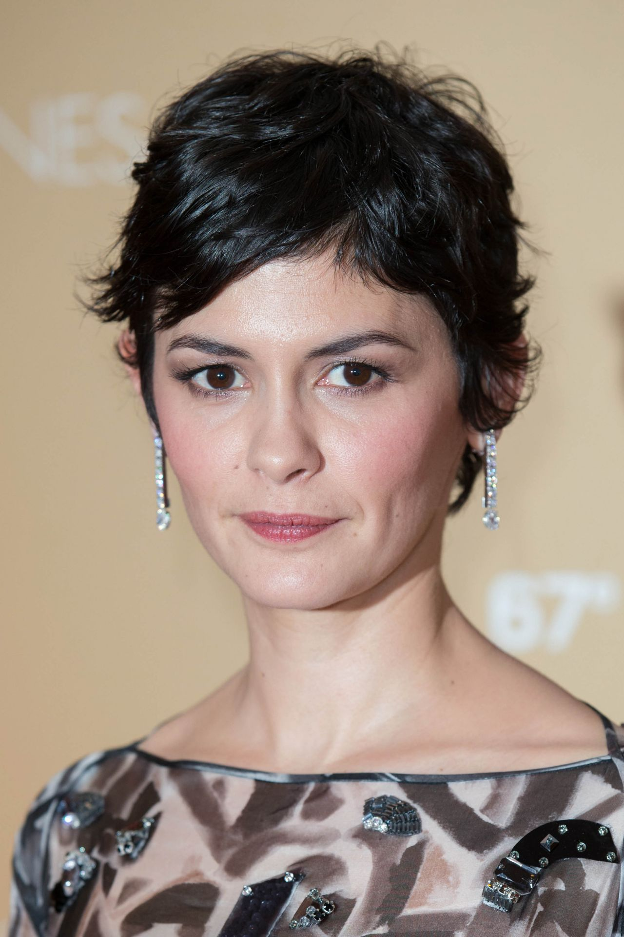 Audrey Tautou - Pening Ceremony Dinner - 2014 Cannes Film Festival