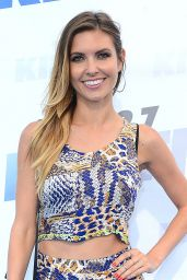 Audrina Patridge Shows Off Her Legs - 102,7 KIIS FM