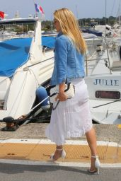 Bar Refaeli in France - Out in Antibes - May 2014