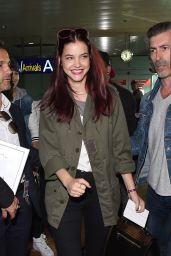 Barbara Palvin Arriving in Nice for the 67th Annual Cannes Film Festival - May 2014