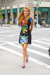 Bella Thorne at Her Hotel in NYC - May 2014