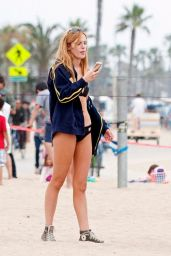 Bella Thorne - Beach in Santa Monica - May 2014