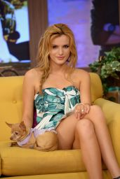 Bella Thorne - Despierta America Set Photos - May 2014
