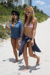 Bella Thorne in a Bikini on the Beach in Miami - May 2014