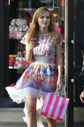 Bella Thorne Shopping at Victoria Secret in Santa Monica - May 2014