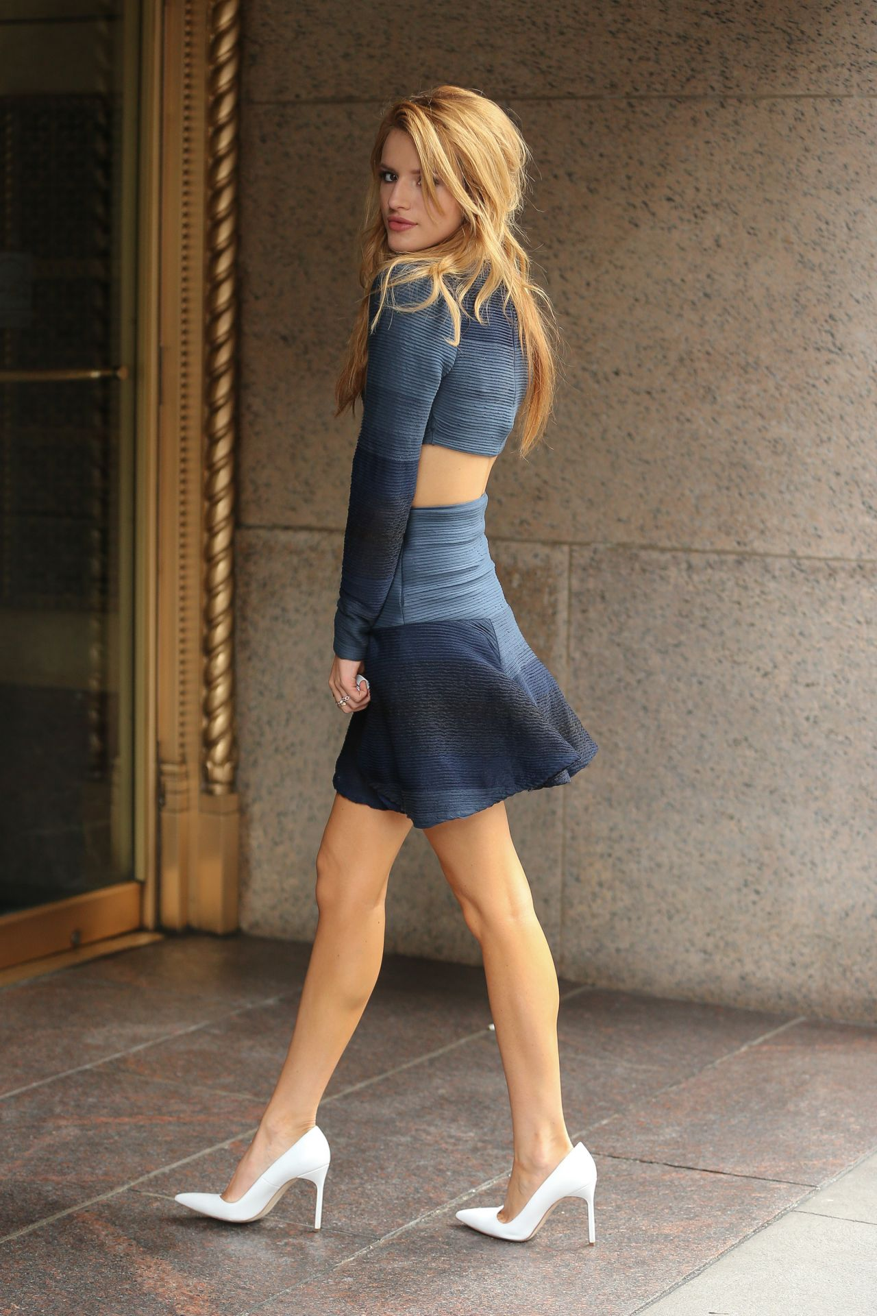 Bella Thorne - Sirius Studios in New York City - May 2014