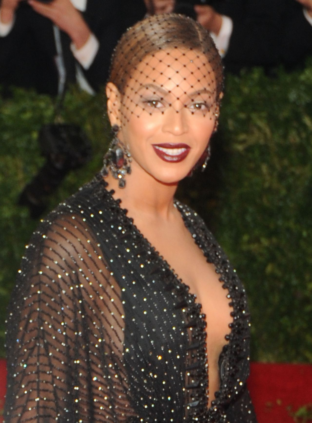 Beyonce Knowles Wearing Givenchy Couture 2014 Met