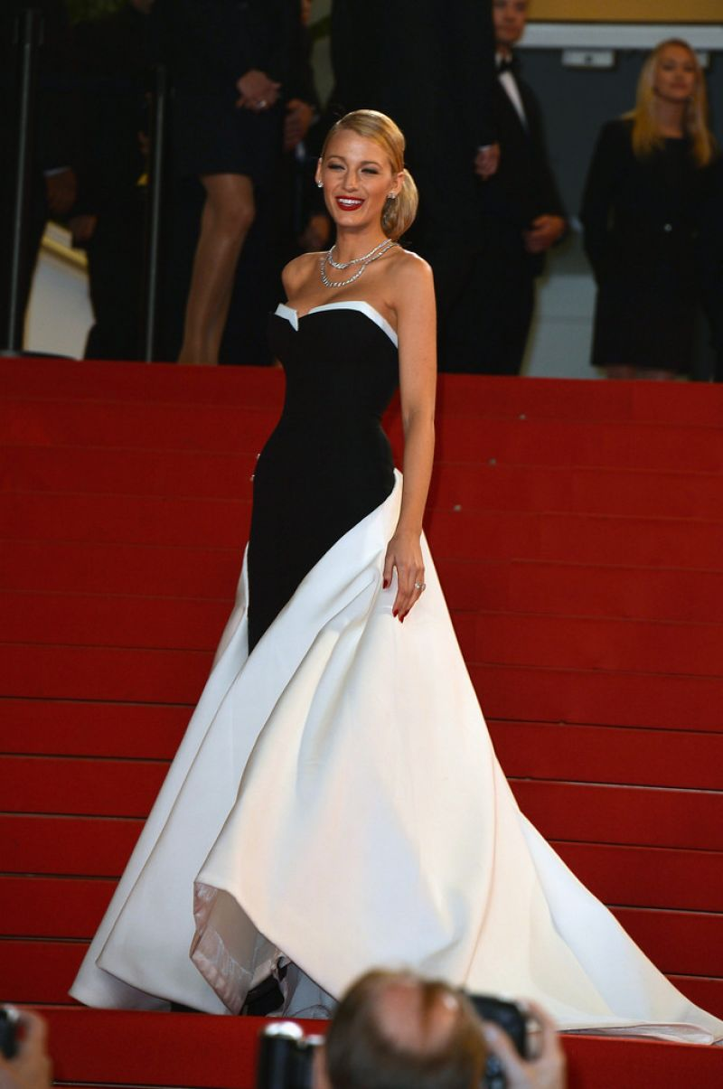 Blake Lively Captives Premiere 2014 Cannes Film Festival