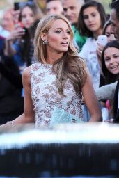 Blake Lively in Giambattista Valli Couture Dress - Outside