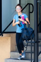 Brenda Song - Leaving the Gym in Studio City - May 2014