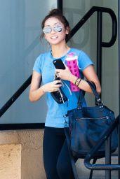 Brenda Song - Leaving the Gym in Studio City - May 2014