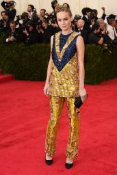 Brie Larson Wearing Prada – 2014 Met Costume Institute Gala