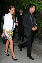 Brooke Burke-Charvet Night Out Style - Kate Hudson/Chrome Hearts Celebration - May 2014