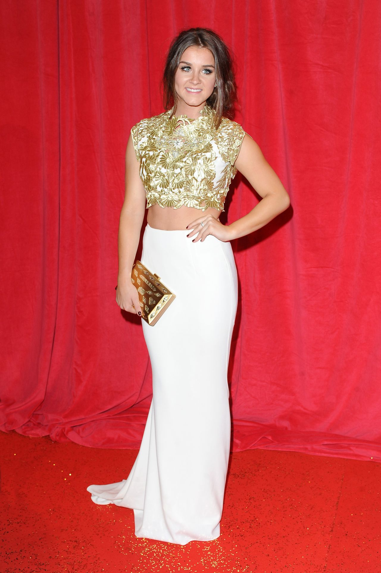 Brooke Vincent - 2014 British Soap Awards in London