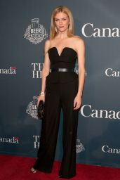 Brooklyn Decker Wearing Martin Grant Jumpsuit - 2014 White House Correspondents Association Dinner Weekend in Washington