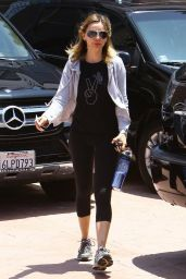 Calista Flockhart Going To a Gym in Los Angeles - May 2014