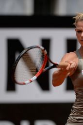 Camila Giorgi – Italian Open 2014 in Rome, Italy – May 2014