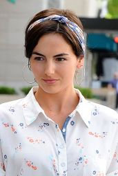 Camilla Belle in Ripped Jeans - Out in Beverly Hills - May 2014