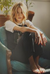 Camille Rowe - Photoshoot for So It Goes Magazine May 2014 Issue